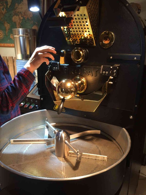 Judies Röststoff Kaffee - Der Röster