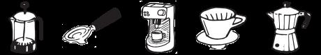 Icons-komplett - Judies Röststoff Kaffee